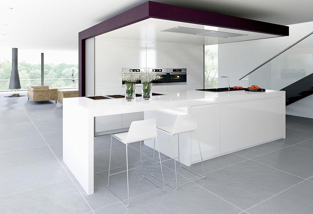 weisse designer küche - BeYou International